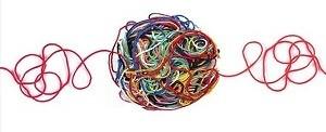絡まった糸